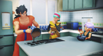 MMD - Yamcha, the sexy cook! by CogetaCats