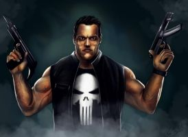 The punisher (colors) by PlER0