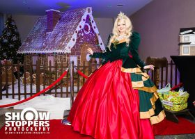 Holly Holiday - front view by LuxCostumeDesign
