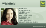 deviantART ID Card by Wickfield