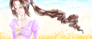 Aerith - FFVII by XiaoXiongMao