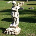 Childs Grave Year Unknown by seaglasshunter