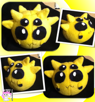 Joltik Ball Plushie :Commission: by Ami-Plushies