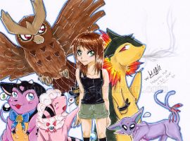 My Pokemon Team - Soulsilver by Pumpkin-Cat