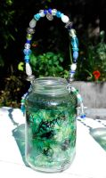 Ocean Tea Light Lantern 1 by No-Avail