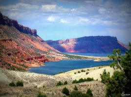 Flaming Gorge by SpencerMel