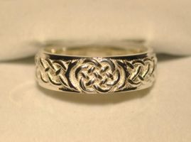 Celtic Wedding Knot Ring by dfoley75