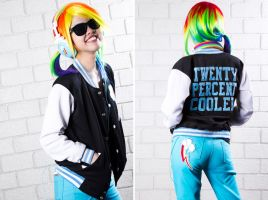 My Little Pony: Rainbow Dash i by patdes