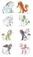 Adoptables IV by VolatileFortune