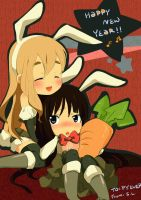 :K-ON: Year of the Bunny,,, by leojiaz