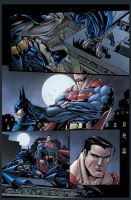 Superman Batman pg2 by SiriusSteve