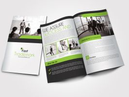 Bi Fold Business Brochure by Designhub719