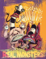 Ahh Real Monsters by liliesformary