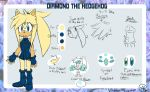Diamond The Hedgehog Reference by vintage-sweets