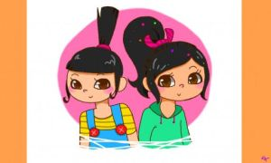 Agnes and Vanellope by MsGDance