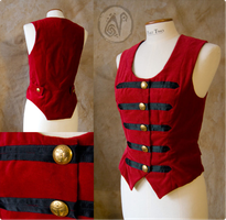 The Red Vest by Nymla