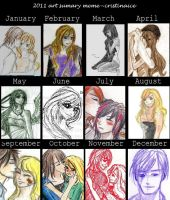 2011 art summary by cristinaice