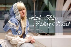 Little Blue Riding Hood by sadwonderland