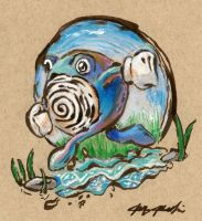 061 Poliwhirl by jmonkey2105