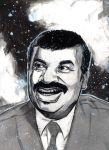 Neil Degrasse Tyson by NateFlamm