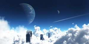 Above the Clouds by jhmart1