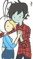 Marshall lee x Fionna (fiolee) by tamikofrost