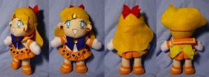 Sailor Venus Plushie by sakkysa