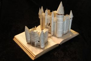 The Kingdom Within Book Sculpture by wetcanvas