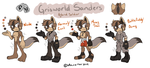 Grisworld Sanders Updated by Moley-Fox