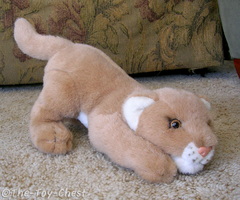 KM International Lion Plush by The-Toy-Chest