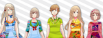 [Nyotalia Series Special Edition] - Fem!Nordics by Shiunee