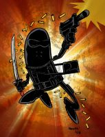 SNAKE-EYES by thecheckeredman