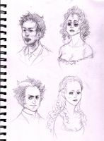Sweeney Todd sketches by bluestraggler