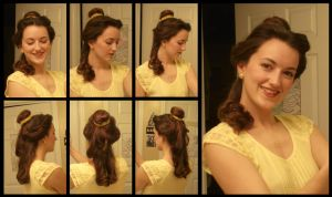 How To: Belle's Hair (ballgown) by Durnesque