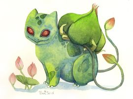 Bulbasaur by bluealaris