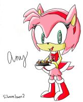amy rose 2 by silvazelover2
