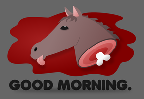 Mornin' Horse Head by wildgica