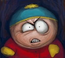 furious cartman by moonaninsa