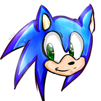 Sonic The Hedgehog by Wuhv