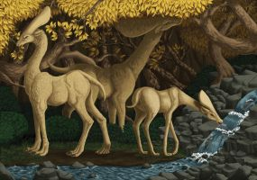 Forest Animals by Sontine