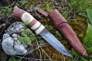 Red Eagle Knife by Messermacher