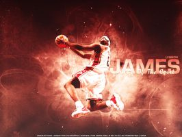 Lebron James Wallpaper by K1lluminati