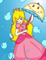 Super Princess Peach by xXEternal-twilightXx