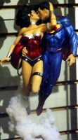 Superman And Wonder Woman by Neville6000