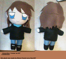 Tristan Plushie by Hao-007