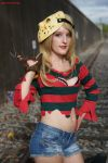Fem Freddy Krueger: Victory Is Sweet by HarleyTheSirenxoxo