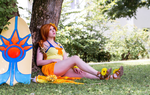 Pool Party Leona :D by Alelamon