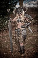 Skyrim Barbie 4 - Great Sword by AndrewDobell