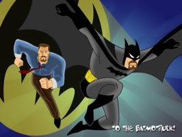 Simon as The Batman by AndrewJHarmon