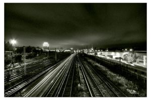 Railway to Berlin by stoneddude